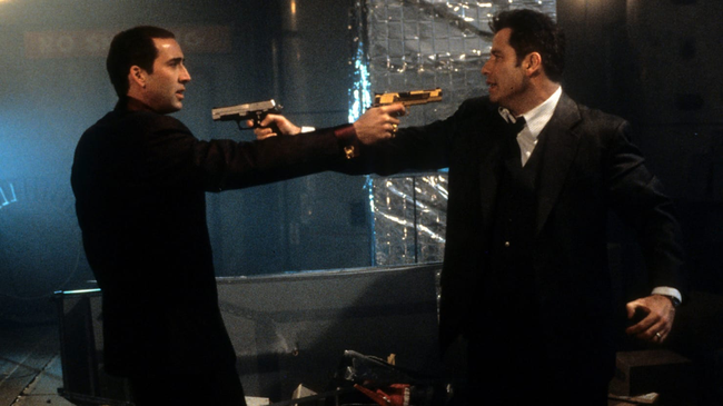 Nicolas Cage & John Travolta in Face/Off