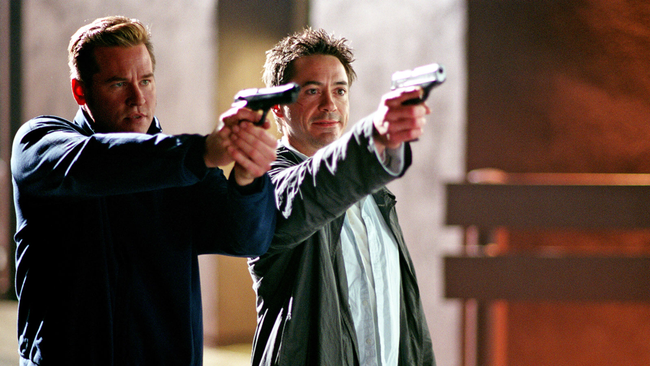 Val Kilmer & Robert Downey, Jr. in Kiss Kiss Bang Bang