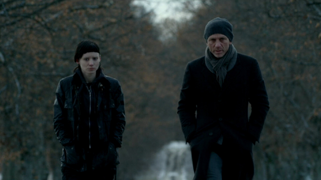 Rooney Mara & Daniel Craig in The Girl with the Dragon Tattoo