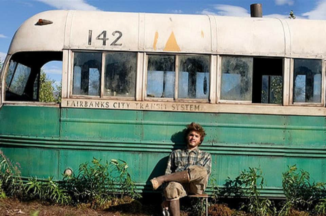 Emile Hirsch In Into the Wild