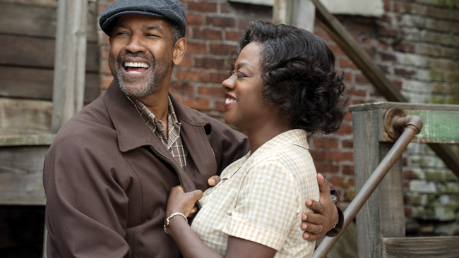 Denzel Washington & Viola Davis in Fences