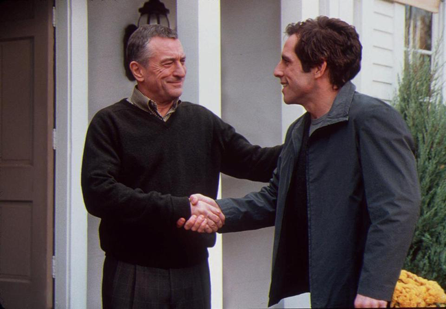 Robert DeNiro & Ben Stiller in Meet the Parents