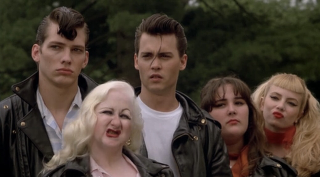The cast of Cry-Baby