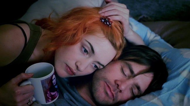 Kate Winslet & Jim Carrey in Eternal Sunshine of the Spotless Mind