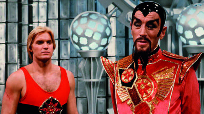Sam J. Jones & Max Von Sydow in Flash Gordon