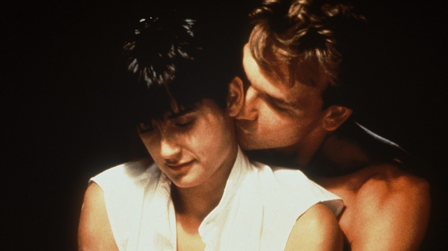 Demi Moore & Patrick Swayze in Ghost