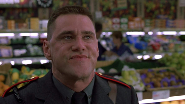 Jim Carrey in Me, Myself & Irene