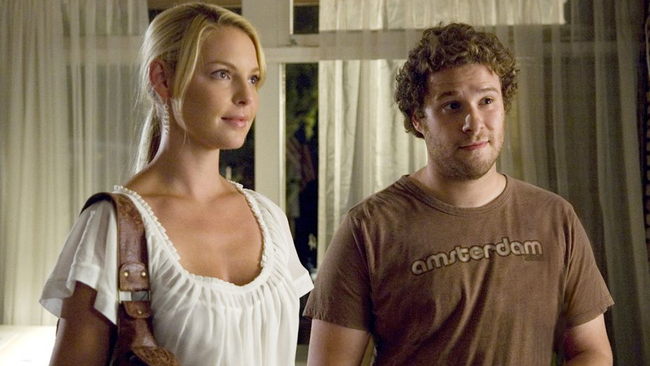 Katherine Heigl & Seth Rogen in Knocked Up