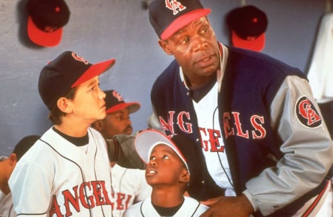 Joseph Gordon-Levitt & Danny Glover in Angels in the Outfield