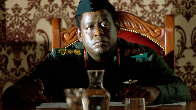Forest Whitaker in The Last King of Scotland