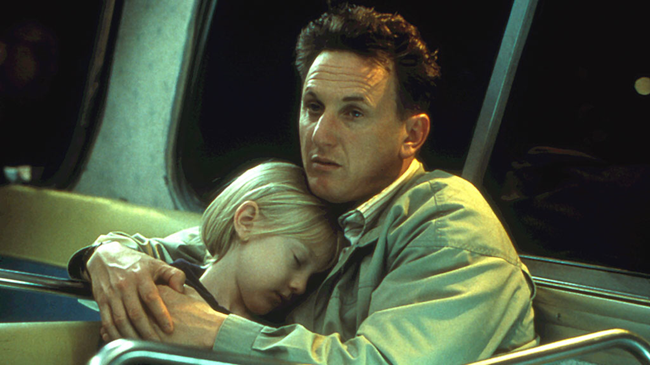 Dakota Fanning & Sean Penn in I Am Sam