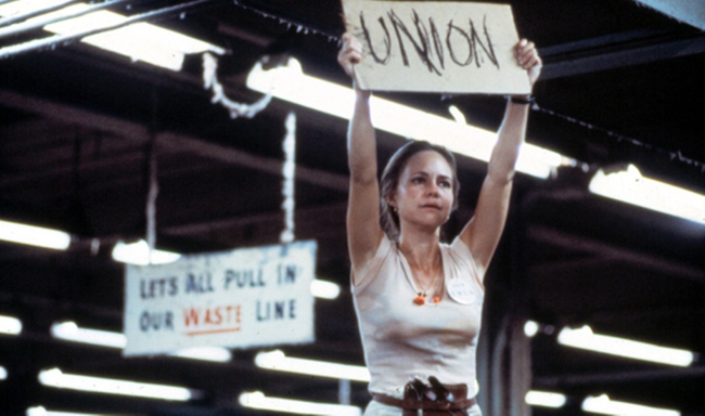 Sally Field in Norma Rae