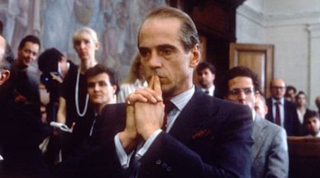Jeremy Irons in Reversal of Fortune