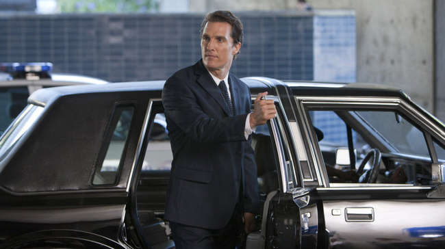 Matthew McConaughey in The Lincoln Lawyer