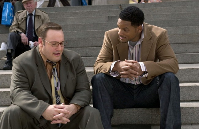 Kevin James & Will Smith in Hitch