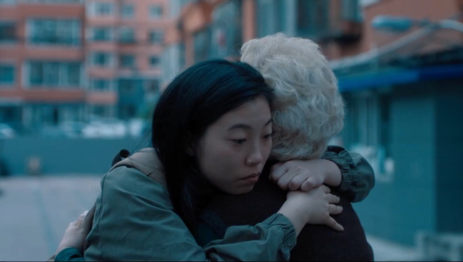 Awkwafina (& Zhao Shuzhen) in The Farewell