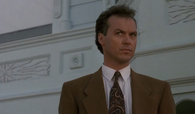 Michael Keaton in Pacific Heights