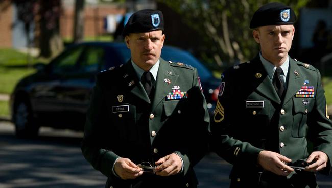 Woody Harrelson & Ben Foster in The Messenger