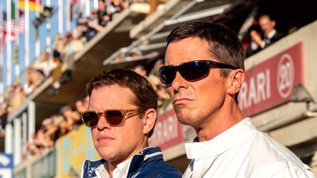 Matt Damon & Christian Bale in Ford vs Ferrari
