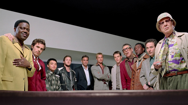 The cast of Ocean's Eleven