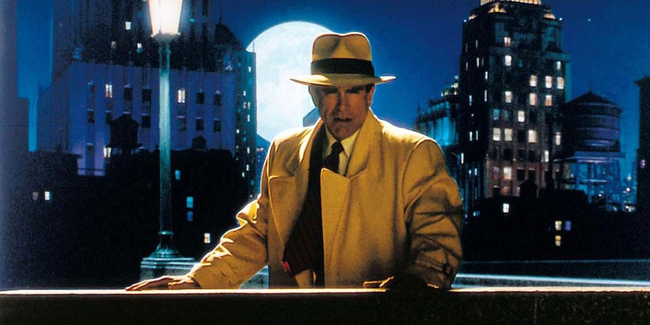 Warren Beatty in Dick Tracy