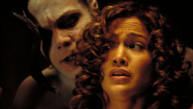 Vincent D'Onofrio & Jennifer Lopez in The Cell