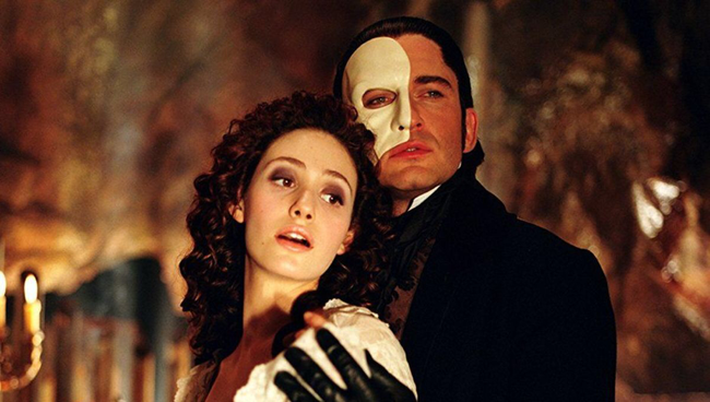 Emmy Rossum & Gerard Butler in The Phantom of the Opera