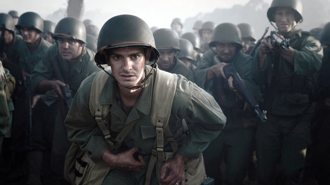 Andrew Garfield in Hacksaw Ridge