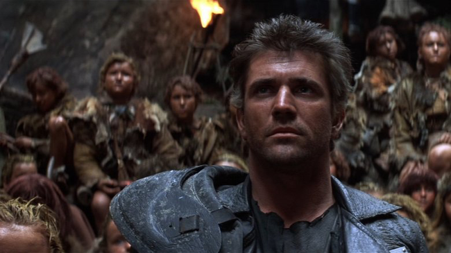 Mel Gibson in Mad Max: Beyond Thunderdome