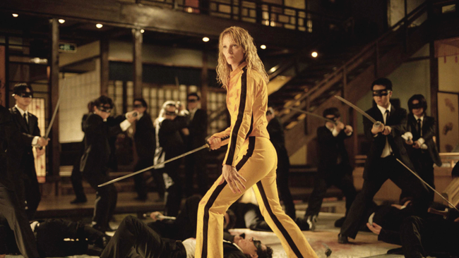 Uma Thurman in Kill Bill: Vol 1