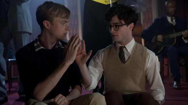 Dane DeHaan & Daniel Radcliffe in Kill Your Darlings