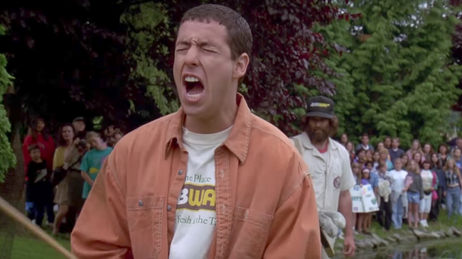 Adam Sandler in Happy Gilmore