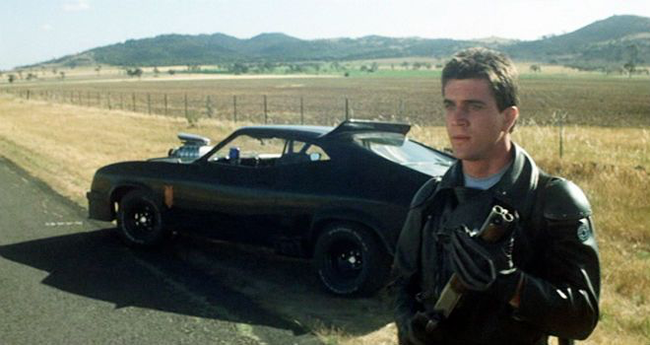 Mel Gibson in Mad Max