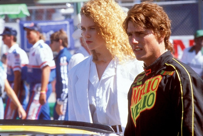 Nicole Kidman & Tom Cruise in Days of Thunder
