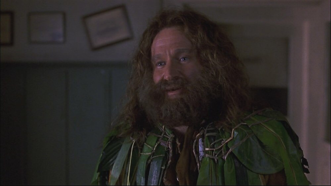 Robin Williams in Jumanji
