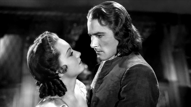 Olivia de Havilland & Errol Flynn in Captain Blood