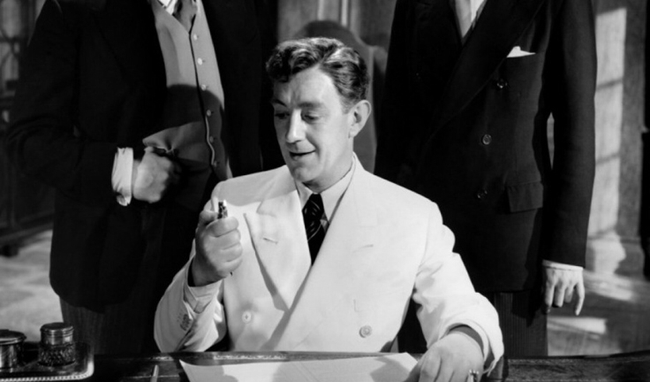 Alec Guinness in The Man in the White Suit