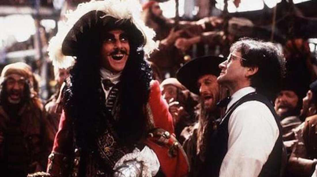 Dustin Hoffman & Robin Williams in Hook