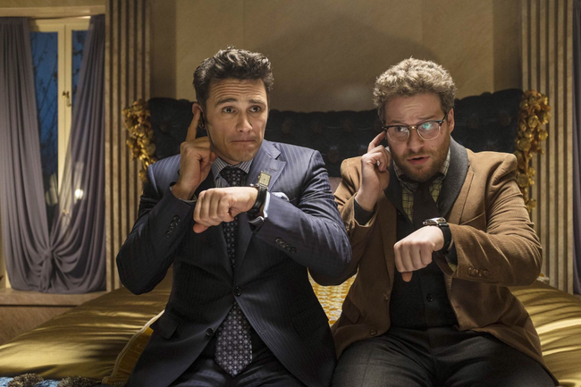James Franco & Seth Rogen in The Interview