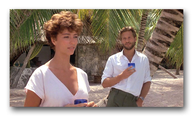 Rachel Ward & Jeff Bridges in Against All Odds