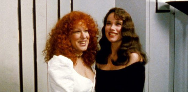 Bette Midler & Barbara Hershey in Beaches
