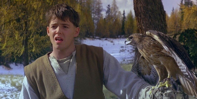 Matthew Broderick in Ladyhawke