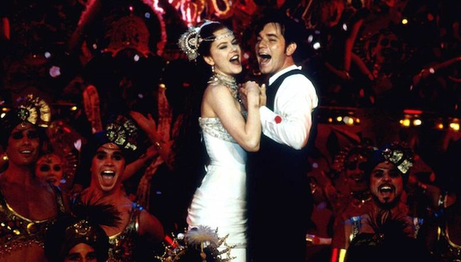 Nicole Kidman & Ewan McGregor in Moulin Rouge