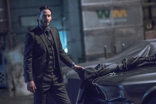 Keanu Reeves in John Wick: Chapter 2