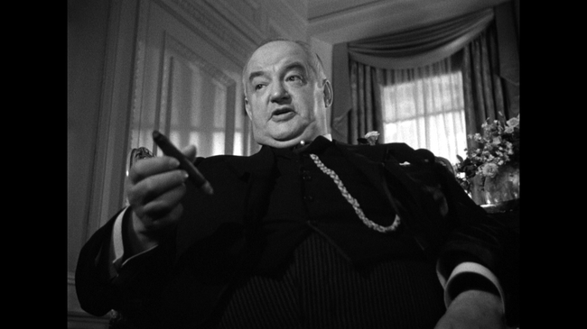Sydney Greenstreet in The Maltese Falcon