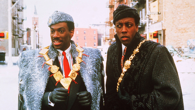Eddie Murphy & Arsenio Hall in Coming to America