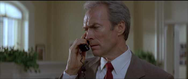 Clint Eastwood in In the Line of Fire