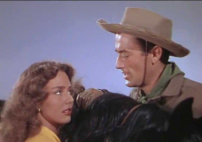 Jennifer Jones & Gregory Peck in Duel in the Sun