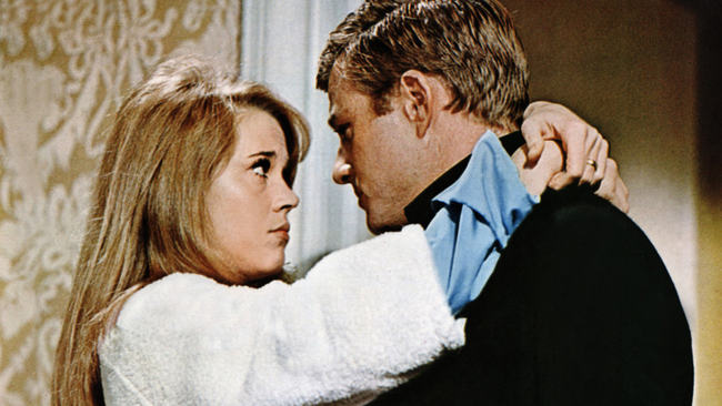 Jane Fonda & Robert Redford in Barefoot In The Park