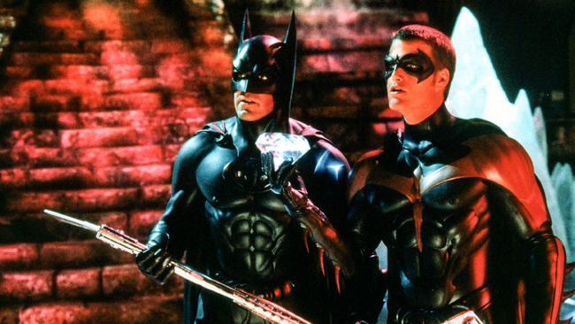 George Clooney & Chris O'Donnell in Batman & Robin